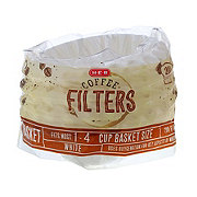 H-E-B Basket Coffee Filter White