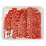 H-E-B Beef Bottom Round Steak Tenderized Thin USDA Select