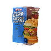 H-E-B Beef Chuck Burgers