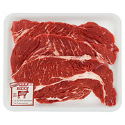 H-E-B Beef Chuck Steak Value Pack, USDA Select, 3-4 steaks