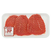 H-E-B Beef Eye of Round  Steak Tenderized  USDA Select