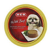 H-E-B Beef in Meaty Juices Wet Dog Food