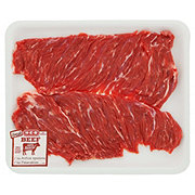 H-E-B Beef Inside Skirt Steak Butterflied Value Pack, USDA Select, 2-3 steaks