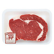 H-E-B Beef Ribeye Steak Thick USDA Select