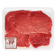 H-E-B Beef Round Steak Tenderized USDA Select