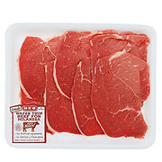 H-E-B Beef Round Tip Steak for Milanesa Wafer Thin Value Pack, USDA Select