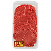 H-E-B Beef Round Tip Steak Milanesa Club Pack, USDA Inspected