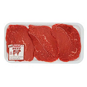 H-E-B Beef Round Tip Steak  USDA Select