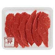 H-E-B Beef Round Tip Steak Value Pack, USDA Select, 6-7 steaks
