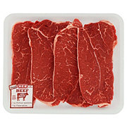 H-E-B Beef Shoulder Steak Boneless Thin Value Pack USDA Select
