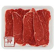 H-E-B Beef Shoulder Steak Boneless Thin Value Pack, USDA Select, 3-4 steaks