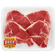 H-E-B Beef T-Bone Steak Value Beef Value Pack