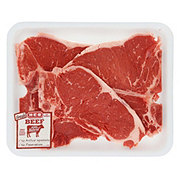 H-E-B Beef T-Bone Steak Value Pack USDA Select