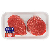 H-E-B Beef Tenderloin Steak Boneless Thick, USDA Choice