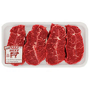 H-E-B Beef Top Blade Steak Boneless Thick USDA Select