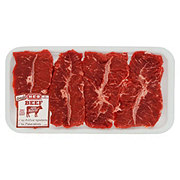 H-E-B Beef Top Blade Steak Boneless Thin USDA Select