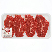H-E-B Beef Top Blade Steak Boneless USDA Select