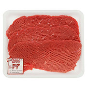 H-E-B Beef Top Round Steak Tenderized Value Pack USDA Select