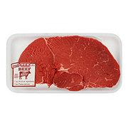 H-E-B Beef Top Sirloin Steak Center Cut Thick USDA Select