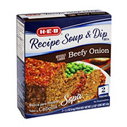 H-E-B Beefy Onion Recipe Soup & Dip Mix