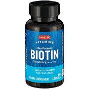 H-E-B Biotin 10000 mcg
