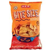 H-E-B Bite Size Corn Tortilla Chips