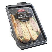 H-E-B Black Forest Ham and Swiss Croissant Sandwich