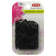 H-E-B Black Small Rubber Bands