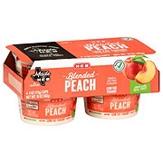 H-E-B Blended Low-Fat Peach Yogurt