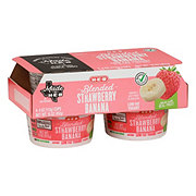 H-E-B Blended Strawberry Banana Low Fat Yogurt