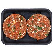 H-E-B Blue Cheese Wild Salmon Burgers