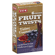 H-E-B Blueberry Pomegranate Fruit Twists