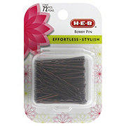 H-E-B Bobby Pin Case Brown