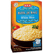 H-E-B Boil In Bag White Rice, 14 oz