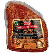 H-E-B Boneless Applewood Smoked Sliced Ham with Natural Juices
