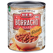 H-E-B Borracho Beans Made with Shiner Bock