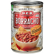 H-E-B Borracho Beans with Shiner Bock