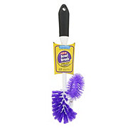 H-E-B Bowl Brush with Rim Scrubber