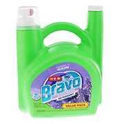 H-E-B Bravo Dual Liquid Detergent Lavender 96 Loads