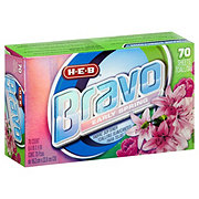H-E-B Bravo Early Spring Fabric Softener Sheets