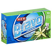 H-E-B Bravo Original Fabric Softener Dryer Sheets