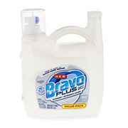 H-E-B Bravo Plus HE Liquid Detergent Free & Clear 96 Loads