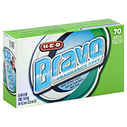 H-E-B Bravo Sheets Free & Clear Fabric Softener
