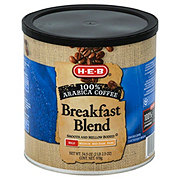 H-E-B Breakfast Blend Mild Roast Ground Coffee