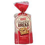 H-E-B Breakfast Bread, Apple Strudel