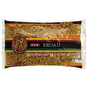 H-E-B Broad Yolk Free Egg Noodles