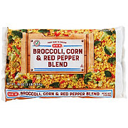 H-E-B Broccoli, Corn, and Red Peppers Blend