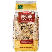 H-E-B Brown & Wild Long Grain Rice