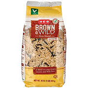 H-E-B Brown & Wild Long Grain Rice Blend