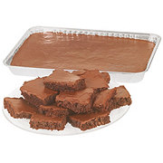H-E-B Brownies with Fudge Icing 1/4 Sheet